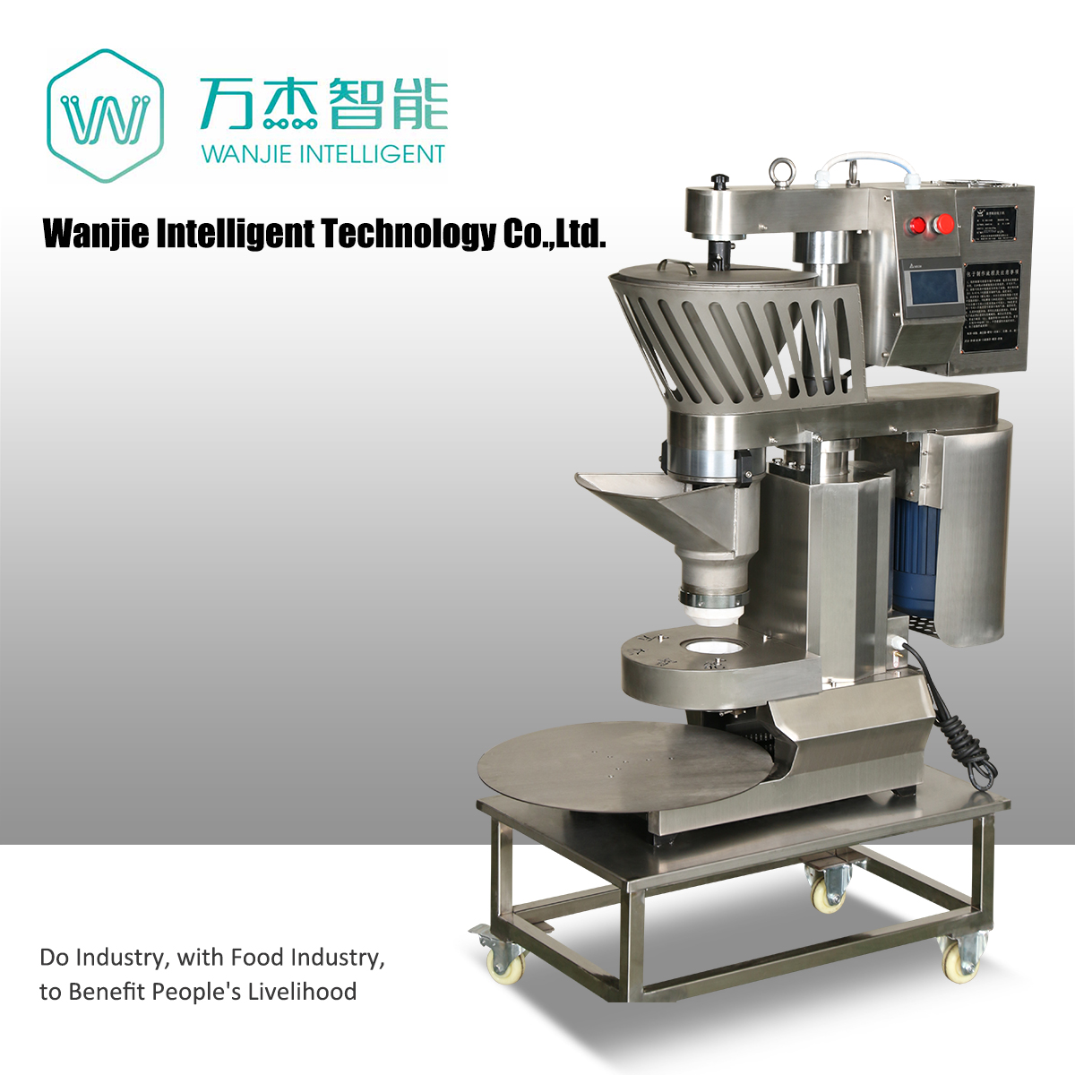 Automatic steamed stuffing bun machine
